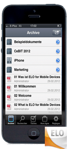 ELO Mobile iPhone