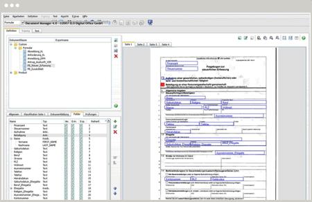 Extraction des données DocXtractor