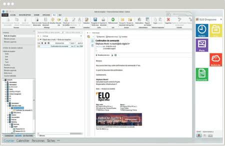 Interface ELODMS Desktop